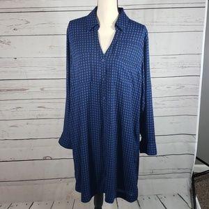 Express shirt dress size XL EUC